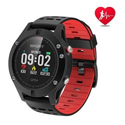 Smart watch,Sports Watch with Altimeter/Barometer/Thermometer and Built-in GPS, Fitness Tracker  ...