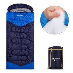 Hugerock Sleeping Bags for Adults – for Camping, Hiking, Outdoor, with Compression Sack- 3 ...