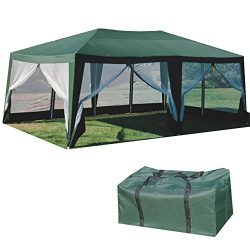 Formosa Covers SUNMART Deluxe Screen House Extra Large Canopy Shade and Mosquito Protection for  ...