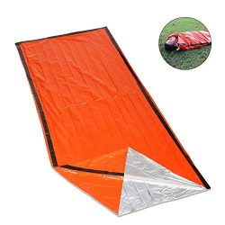 Top Lander Emergency Survival Sleeping Bag Lightweight Thermal Insulation Compact Outdoor Fisrt  ...