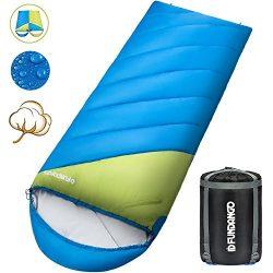 FUNDANGO Sleeping Bag Compression Sack Envelope Lightweight Portable, Waterproof, Comfort Compre ...