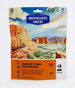 Backpacker's Pantry Shepherd's Potato Stew with Beef, Two Serving Pouch, (Packaging  ...