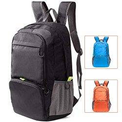 Travel Backpack Daypack,Cobiz 30L Lightweight Water Resistant Packable Laptop Hiking/Camping Bac ...