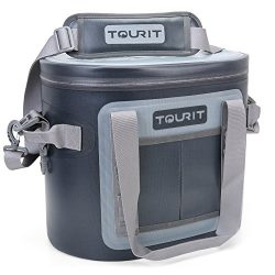 TOURIT 20 Cans Leak-proof Soft Pack Cooler Waterproof Insulated Soft Sided Coolers Bag with Cool ...