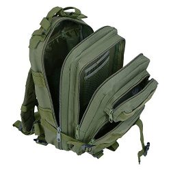 Waterproof Hiking Bag,Spider-BX(TM)Military Camping Bag Oxford Nylon Tactical Backpack Rucksacks ...