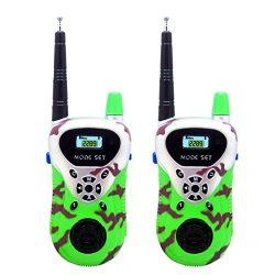 Kanzd 2Pcs Kids Electronic Toys Wireless Walkie Talkie Portable Two-Way Radio Gifts For Boys Gir ...