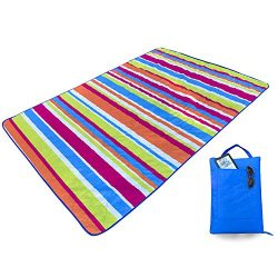 Kute 'n' Koo Outdoor Picnic Blanket Tote, Super Easy to Fold, Machine Washable, Wate ...