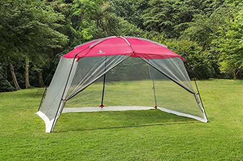 ALPHA CAMP Screen House & Room Canopy Tent with Mesh Side Walls and Carry Bag – 13R ...