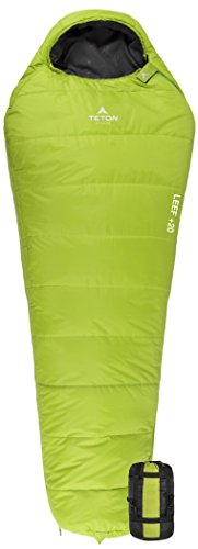 Teton Sports LEEF Scout -7C Ultralight Mummy Sleeping Bag