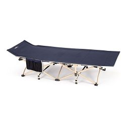 CampLand Folding Cot Portable Camping Bed Guest Bed, 74.7×26.4.-inch
