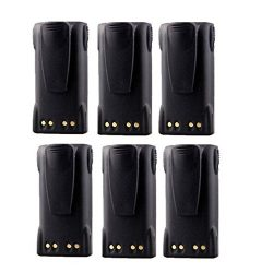 7.4V 2000mAh Li-Ion HNN9013 HNN9013B HNN9013DR Battery for MOTOROLA Portable Two-Way Radio (Pack ...