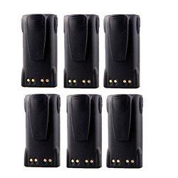 7.4V 2000mAh Li-Ion HNN9013 HNN9013B HNN9013DR Battery for MOTOROLA Portable Two-Way Radio (Pack ...