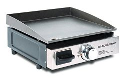 Blackstone Table Top Grill – 17 Inch Portable Gas Griddle – Propane Fueled – F ...