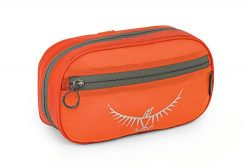 Osprey UltraLight Zip Organizer, Poppy Orange, One Size
