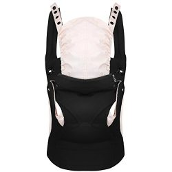 Baby Carrier Backpack front and back 360° Ergonomic , Soft Structured Sling Comfortable Breathab ...