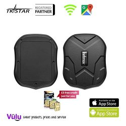 GPS Tracker Long Standby Car Locator GPS Tracker Free App Strong Magnet for Vehicle GPS Tracking ...