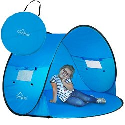 Campela Baby Beach Tent Pop Up Sun Shelter – UV Protection Beach Shade for Toddler, Infant ...