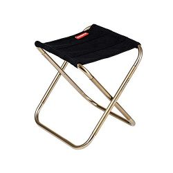 Keweis Folding Camping Stool,Large Size Portable Aluminum Material Outdoor Folding Chair Slacker ...