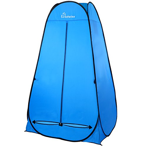 WolfWise Pop Up Changing Tent, 6.25Ft Dressing Room Outdoor Privacy Shelter for Camping Photo Sh ...