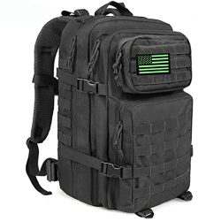 MEWAY Military Tactical Backpack Large Assault Pack 3 Day Army Rucksacks Outdoor Hunting Backpac ...
