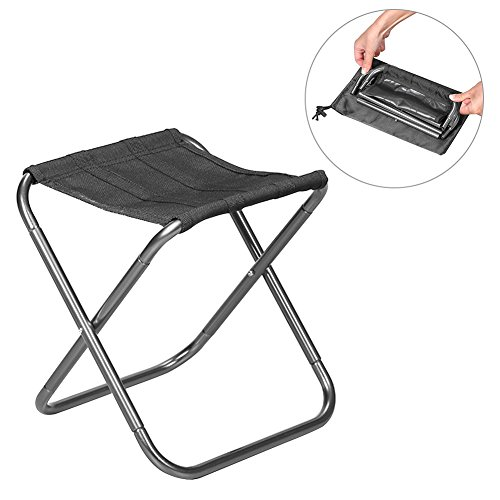 PROKTH Camping Chairs Folding Lightweight with Bag, Outdoor Ultra-Light Aluminum Alloy Portable  ...