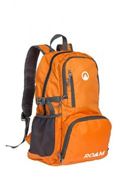 Roam Packable Backpack – Lightweight Foldable Daypack Water-Resistant, 25L, – Durable Tear-Resis ...