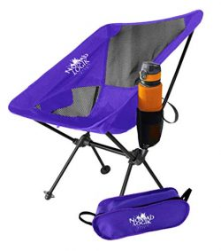 Nomad Logik purple lightweight camping chairs lightweight
