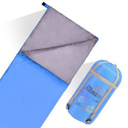 JBM Sleeping Bag with Compact Bag 4 Seasons 0℃/30℉ Multi Color Blue Green Insulated Waterproof a ...