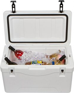 Trademark Innovations Rot Molded Cooler & Ice Chest (40 Quart)