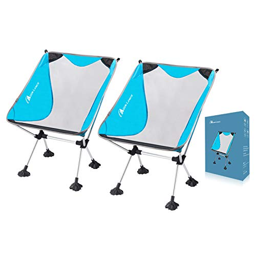 Moon Lence Compact Camping Chair Ultralight Portable Folding Chair Lightweight Backpacking Chair ...