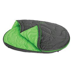 RUFFWEAR – Highlands Sleeping Bag for Dogs, Meadow Green, Medium