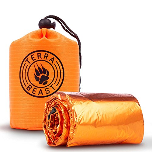 Emergency Sleeping Bag – for Shelter and Protection That Fits in Your Hand – All Wea ...