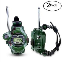 Kids Walkie Talkies,Bright Sunflower Long Range Two-Way Radios Walky Talky For Children,Outdoor  ...