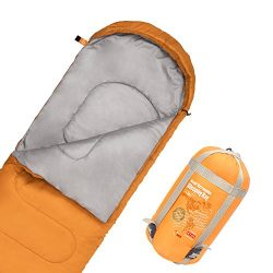 JBM Sleeping Bag with Compact Bag in 4 Seasons Multi Colors Blue Green Insulated Waterproof and  ...