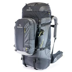 Roamm Nomad 65 +15 Backpack – 80L Liter Internal Frame Pack With Detachable Daypack – ...