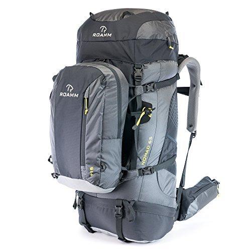 Roamm Nomad 65 +15 Backpack – 80L Liter Internal Frame Pack With Detachable Daypack – ...