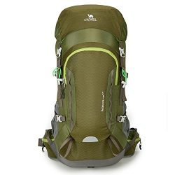 Camel 45L Internal Frame Backpack High-Performance Backpack for Backpacking Outdoor Hiking Trave ...