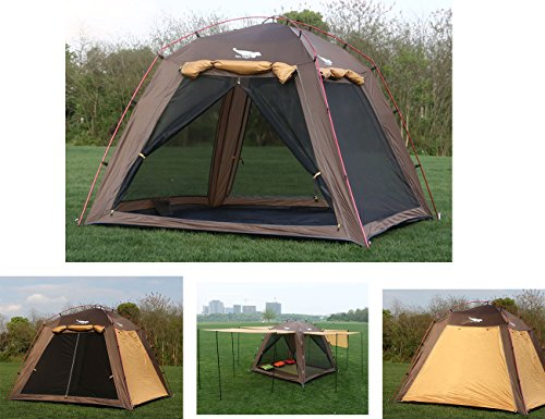 Luxe Tempo Screen House Tent Screen Room Lightweight for Beach Backyard Camping 3 Person Tall Fa ...