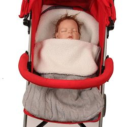 Baby Swaddle, Iuhan Infant Baby Swaddle Sleeping Bag Cute Soft Sleep Sack Stroller Wrap (Gray)