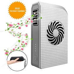 Small Personal Fan , Peralng Portable Handheld Fan with 6000mAh Battery, Portable,Battery Rechar ...