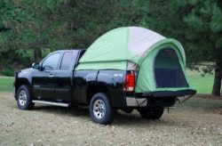 Napier Backroadz Camping Truck Tent Short Box Cab Pickup Ford Gmc Jeep Toyota