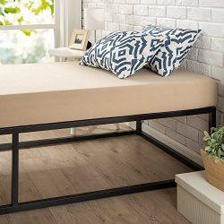 Zinus Modern Studio 14 Inch Platforma Bed Frame, Cot Size, 30″ x 74.5″, Mattress Fou ...