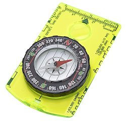 Reliable Outdoor Gear Professional Boy Scout Compass – Liquid Filled, Adjustable Declinati ...