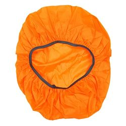 TOOGOO(R) New Waterproof Travel Hiking Accessory Backpack Camping Dust Rain Cover 35L,Orange