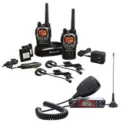 Midland – Xtreme Bundle – GXT1000, 50 Channel GMRS Two-Way Radio – Up to 36 Mi ...