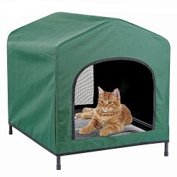 Kleeger Premium Canopy Pet House Retreat – Waterproof Indoor & Outdoor Shelter – Suita ...