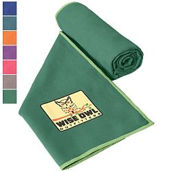 Wise Owl Outfitters Camping Towel – Ultra Soft Compact Quick Dry Microfiber Best Fitness B ...