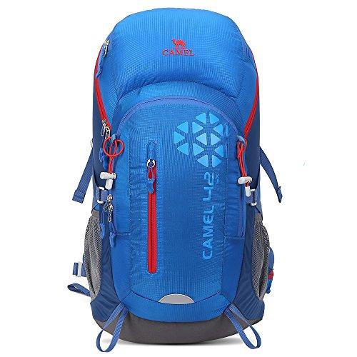 Camel 42L Internal Frame Backpack Backpacks for Backpacking Camping Hiking Travel Outdoor Large  ...