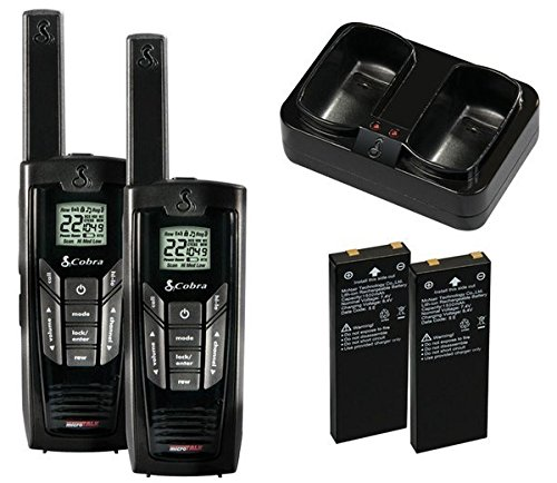 Cobra Walkie-Talkie microTalk CXR925 35-Mile 22-Channel Two-Way Radio