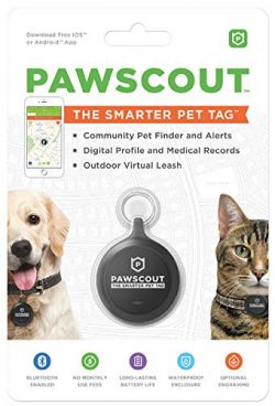 Pawscout – The Smarter Pet Tag – Pet Tracker for Dogs & Cats – Bluetooth E ...